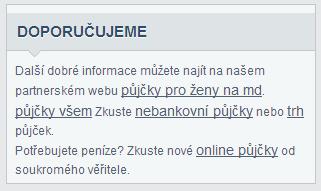 site-wide odkazy - spam