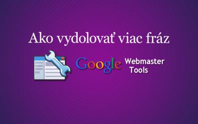 Jednoduchý trik, ako získať viac kľúčových slov z Googlu